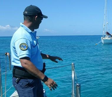 La gendarmerie maritime, un des acteurs de l'opération coordonnée par la direction des Affaires maritimes du gouvernement