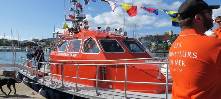 La vedette de première classe du type ORC160 a été construite à Lorient.